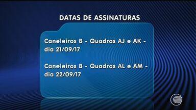 Começa hoje a assinatura dos contratos do programa 'Minha Casa Minha vida' - Começa hoje a assinatura dos contratos do programa 'Minha Casa Minha vida' da região do bairro Porto Alegre, zona Sul de Teresina