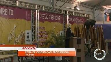 Taubaté recebe feira de profissões - Evento é realizado pela Universidade de Taubaté.
