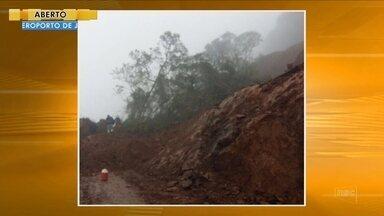 Deslizamento atinge BR-285 na Serra da Rocinha - Deslizamento atinge BR-285 na Serra da Rocinha