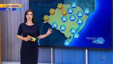 Tempo: RS tem predomínio do sol nesta terça-feira (19) - Veja as temperaturas.