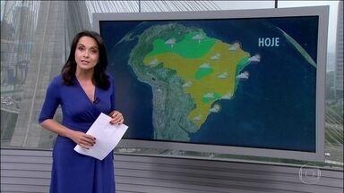 Previsão é de chuva em trechos do litoral nordestino - Há possibilidades de pancadas de chuva também no Espírito Santo.