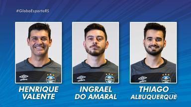 Fisioterapia ganha 'atenção especial' no Grêmio com situações de Geromel e Luan - Lateral Edílson se garante 100% contra o Botafogo e confia na presença de Geromel e Luan na partida.