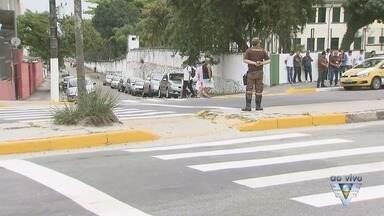 Faixa Viva é lançada em São Vicente para conter acidentes - Campanha é iniciativa da Secretaria de Transportes da cidade.