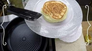 Panquecas - Receita pode ser servida no café da manhã