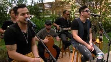 Henrique e Diego cantam sucesso 'Malbec' - Dupla anima a sua manhã com boa música