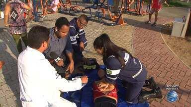 Dia do coração: aprenda a identificar e veja como tratar infartos e paradas cardíacas - Nos últimos três anos, mais de 11.500 pessoas morreram de infarto na Bahia.