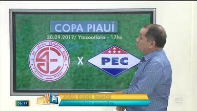 Confira os próximos jogos da Copa Piauí - Confira os próximos jogos da Copa Piauí