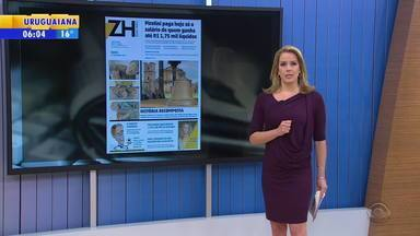 Confira os destaques dos jornais gaúchos nesta sexta-feira (29) - Veja as manchetes.