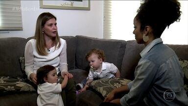 Mulher levou 20 anos para descobrir origem de dor abdominal - A diretora de operações Adriana Tufanin descobriu a origem de sua dor na base da barriga ao tentar engravidar e não conseguir. Ela foi diagnosticada com endometriose.