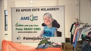 Bazar para ajudar menino João Vitor é roubado em Florianópolis - Bazar para ajudar menino João Vitor é roubado em Florianópolis