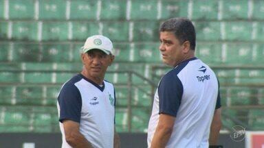 Guarani tem partida decisiva contra o Criciúma neste sábado pela Série B - GloboEsporte.com lança enquete para saber a opinião do torcedor sobre demissão de Marcelo Cabo em caso de tropeço contra o Criciúma.