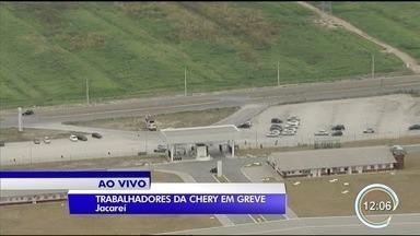Trabalhadores da Chery estão em greve por tempo indeterminado - Eles reivindicam aumento nos salários.