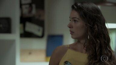 Ritinha insiste com Ruy que está sendo perseguida por Zeca - Nazaré avisa ao sobrinho que Eugênio quer falar com ele. Abel se recusa a falar com Zeca