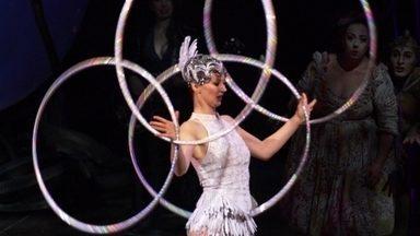Fant360 acompanha ensaio de 'Amaluna', do Cirque du Soleil - Homenagem à força feminina, espetáculo tem dois brasileiros no elenco. Estreia no Brasil é na próxima quinta-feira (5).
