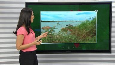 Previsão do tempo: Vazão de água do lago de Sobradinho é reduzida por causa da seca - Agricultores do norte do estado estão enfrentando dificuldades para irrigar as plantações.