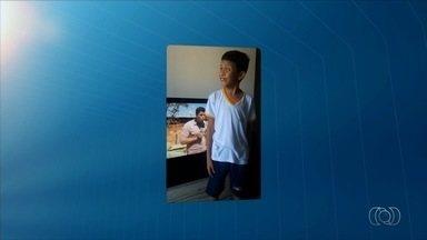 Menino Ian anuncia intervalo do JA 1ª Edição - Vídeo foi enviado pelo aplicativo Quero Ver na TV (QVT), WhatsApp e email.