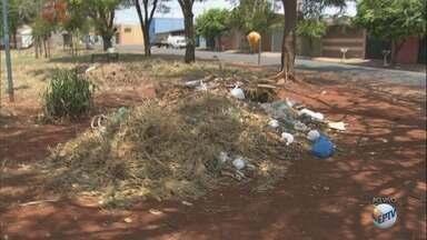 Praça do bairro Ipiranga está abandonada e população pede ajuda - Prazo da Prefeitura para sanar os problemas venceu nesta segunda-feira (16).