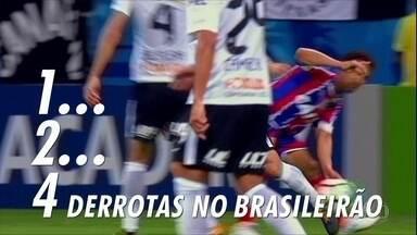 Corinthians tropeça, mas ninguém encosta; veja como está o Timão para a próxima rodada - Corinthians tropeça, mas ninguém encosta; veja como está o Timão para a próxima rodada