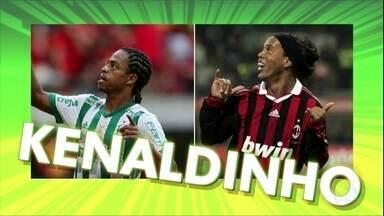 Keno fala sobre seu dia de heroi no Palmeiras e as comparações da torcida - Keno fala sobre seu dia de heroi no Palmeiras e as comparações da torcida