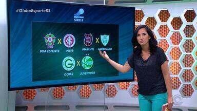 Globo Esporte RS - bloco 1 - 17/10 - Assista ao vídeo.