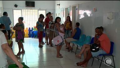 Enfermeiros fazem protesto em frente ao HGV contra decisão que os proíbe de fazer exames - Enfermeiros fazem protesto em frente ao HGV contra decisão que os proíbe de fazer exames