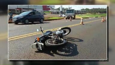 Jovem morre em acidente na BR 277 - Ele tinha vinte e um anos.