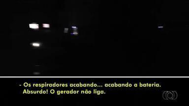 UTI do Hospital Geral de Palmas fica sem energia após geradores falharem - UTI do Hospital Geral de Palmas fica sem energia após geradores falharem