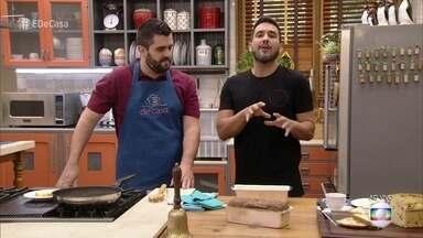 Café da manhã: Aprenda a fazer Pão de Calabresa no Liquidificador - Confira as dicas do blogueiro Diego Assalve