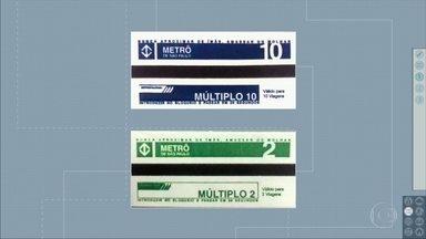 Bilhetes múltiplos de 2 e de 10 do Metrô e da CPTM perderão a validade - Os usuários têm até o dia 15 de novembro para utilizar esses bilhetes, que deixaram de ser vendidos há 11 anos.