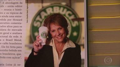 Livro conta história da empresária que trouxe o Starbucks para o Brasil - Uma empresária de sucesso, que morreu há dez anos, deixou um legado importante no mundo dos negócios. A vida de Maria Luisa Rodenbeck serve de inspiração para muita gente, e agora foi contada em livro.
