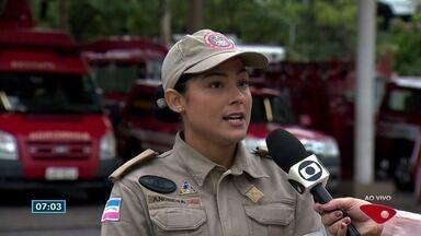 Corpo de Bombeiros dá orientações sobre incêndio em apartamentos - Neste domingo (22), um apartamento pegou fogo em Vitória e dona acha que o problema começou na botija de gás.