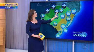 Tempo: quarta-feira (25) será de instabilidade no RS - Temperaturas ficam mais altas no estado.