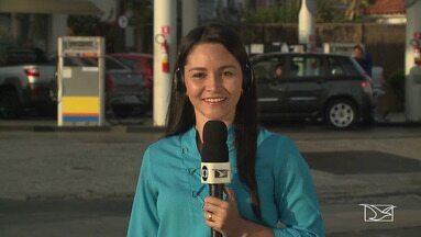Entra em vigor o novo reajuste da gasolina e do disel no Maranhão - Petrobras anunciou queda no valor da gasolina, mas o diesel fica mais caro. Repórter Dalva Rêgo tem mais informações sobre o caso.