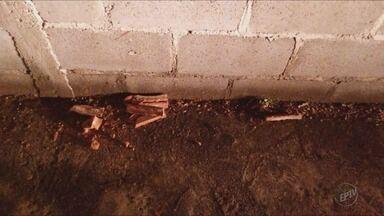 Homem é agredido a tijoladas em Alfenas, MG - Homem é agredido a tijoladas em Alfenas, MG