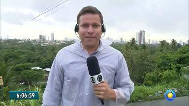 Terça-feira começou chuvosa no litoral paraibano - Veja como fica a previsão do tempo pra hoje em todo o Estado.