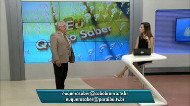 Eu Quero Saber: Paulo Souto responde as perguntas dos telespectadores - Colunista fala sobre Direito Doméstico, Trabalhista e Previdenciário.
