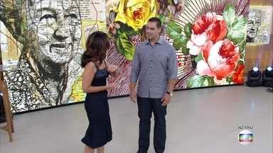 Mentalista demonstra suas habilidades para adivinhar pensamentos - Rick Thibau impressiona convidados e plateia