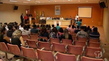 Representantes das prefeituras ligadas à AMUT recebem treinamento do Ministério da Saúde e - Representantes da Associação dos Municípios das Rodovias Transamazônica e Santarém-Cuiabá (AMUT) participam de capacitações que encerram nesta terça (24).