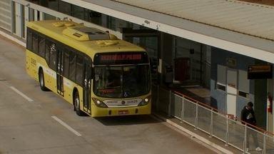 Depois de 3 anos de espera, duas estações do BRT começam a funcionar - As estações da Vargem Bonita e Granja do Ipê começaram a funcionar após três anos de espera.