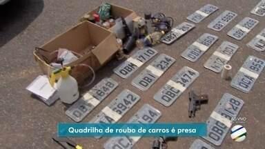 Quadrilha de roubo de veículos é presa na grande Cuiabá - Quadrilha de roubo de veículos é presa na grande Cuiabá.