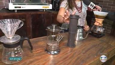 Feira sobre café em Belo Horizonte mostra variedade do grão - Bebida é uma das mais tradicionais do estado, que produz 25 milhões de sacas todo ano.