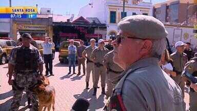 Gravataí recebe reforço de 80 policiais militares após tiros e mortes em festa - Pedido havia sido feito pelo prefeito Marco Alba ao secretário estadual de Segurança, Cezar Schirmer.