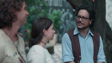 Pais de Deco se despedem de Roney - Odaiuá pede que Keyla leve Tonico para visitá-los em Santos em breve. Roney e Nestor trocam farpas na despedida