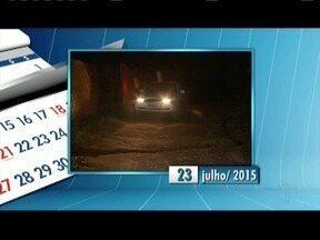 Calendário: Moradores reclamam da falta de pavimentação no Bairro Recanto do Sossego - O Bairro fica em Timóteo.