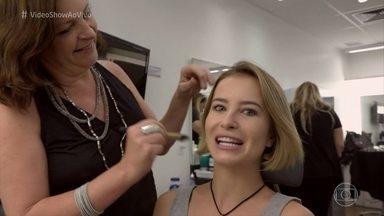 Barbara França fala sobre a caracterização para viver Celina em 'Tempo de Amar' - Atriz conta que adorou o corte de cabelo e ganhou o apelido de 'Cabelinho' do namorado