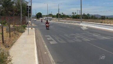 Veja flagrante de motoristas com imprudências no trânsito em Juazeiro do Norte - Saiba mais em g1.com.br/ce