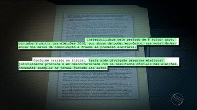 Justiça Eleitoral cassa mandatos de prefeita e do vice de Riachão do Dantas - Justiça Eleitoral cassa mandatos de prefeita e do vice de Riachão do Dantas.