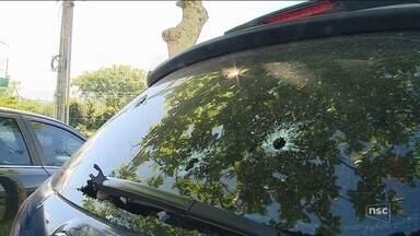 Três guardas municipais são baleados em Florianópolis - Três guardas municipais são baleados em Florianópolis