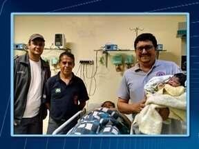 Bebê nasce dentro de ambulância em Presidente Prudente - Durante percurso a hospital, mãe entrou em trabalho de parto.