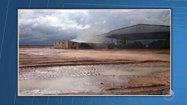 Fazendas são ocupadas por mais de mil pessoas em Correntina, no norte do estado - Manifestantes afirmam que o sistema de irrigação dos dois locais está secando o rio que corta a região.